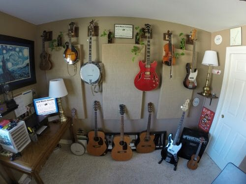 Wall-of-instruments